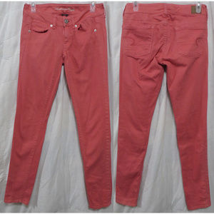 American Eagle jeans 2 skinny colored denim
